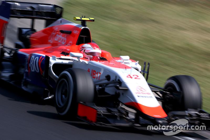 Fabio Leimer, Manor F1 Team Test-und Ersatzfahrer