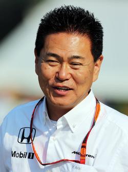 Ясухиса Араи, руководитель команды Honda Motorsport