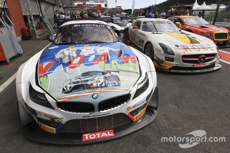 #9 ROAL Motorsport BMW Z4: Тімо Глок, Алекс Занарді, Бруно Спенглер