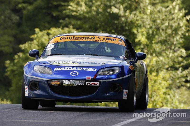 #5 CJ Wilson Racing Mazda MX-5: Stevan McAleer, Chad McCumbee