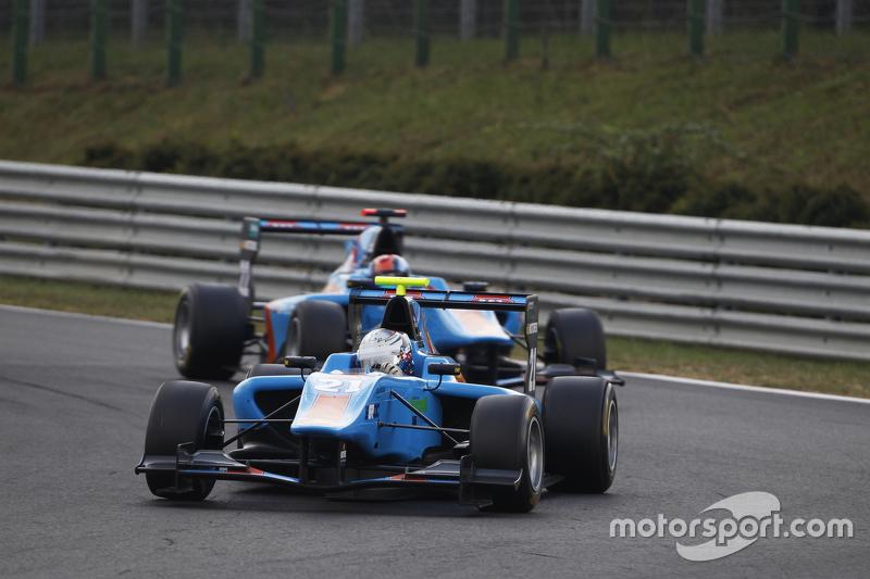 Матео Тушер, Jenzer Motorsport лідирує  Ральф Бошунг, Jenzer Motorsport