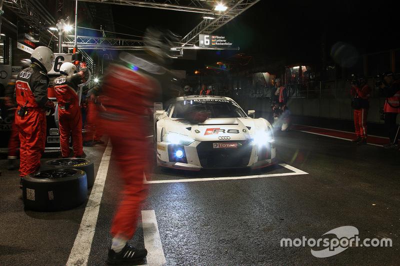 #6 Phoenix Racing Audi R8 LMS: André Lotterer, Marcel Fässler, Mike Rockenfeller