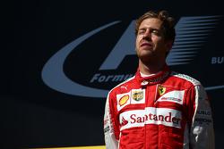 Posisi pertama Sebastian Vettel, Ferrari