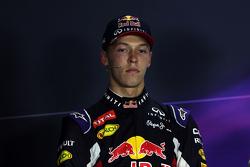 Daniil Kvyat, Red Bull Racing dalam Konferensi Pers FIA