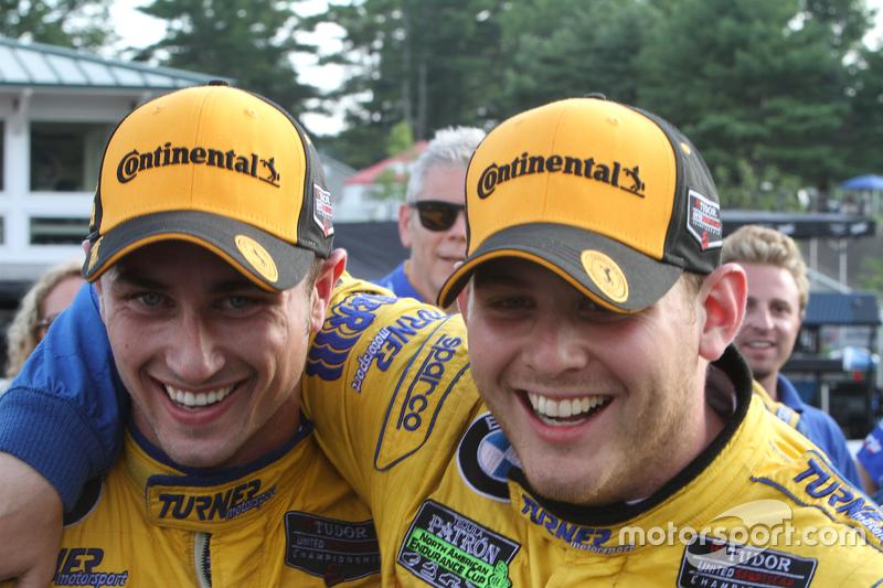 Para juara balapan #97 Turner Motorsport BMW Z4: Michael Marsal, Dane Cameron
