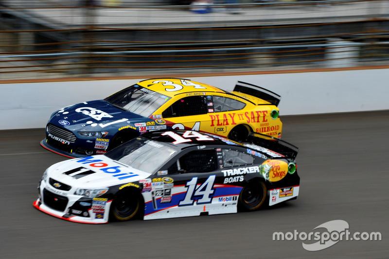 Brett Moffitt dan Tony Stewart, Stewart Haas Racing Chevrolet