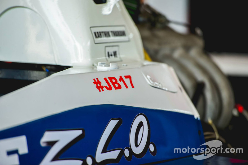 Sticker for Jules Bianchi