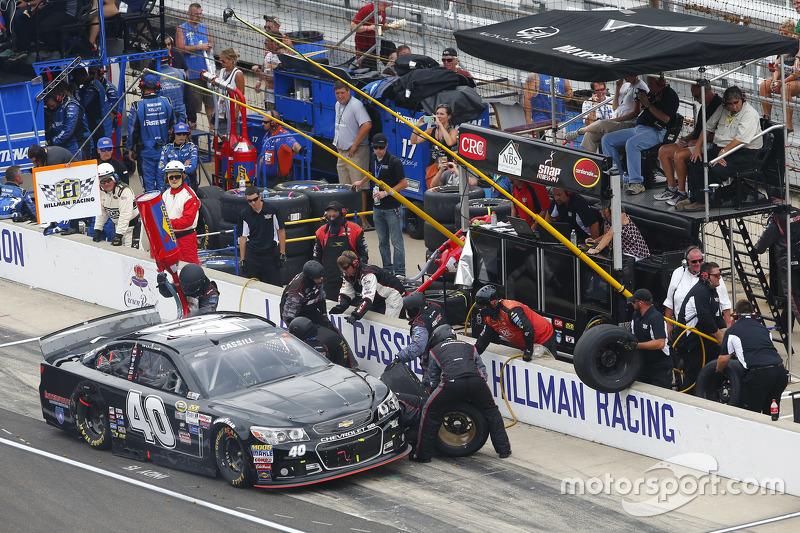 Landon Cassill, Hillman Circle Sport LLC Chevrolet