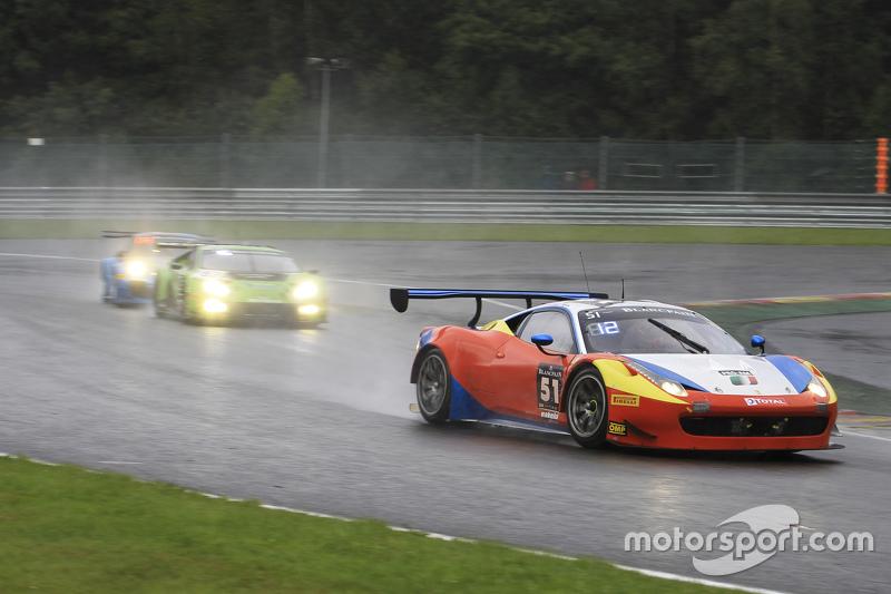 #51 AF Corse Ferrari 458 Italia: Duncan Cameron, Matthew Griffin, Davide Rigon, Francisco Guedes