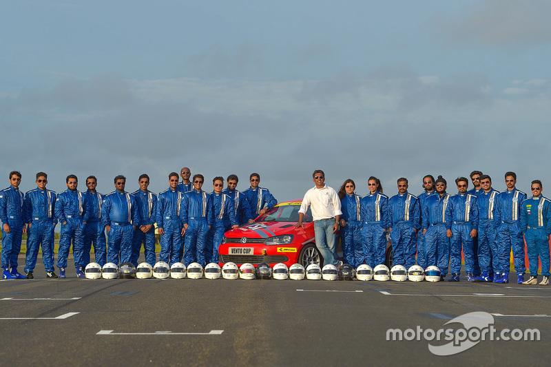 Pembalap Volkswagen Vento Cup