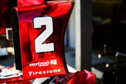 Juan Pablo Montoya, Team Penske Chevrolet detail