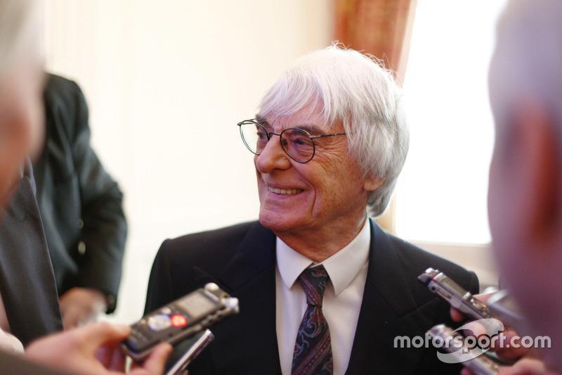 Bernie Ecclestone, CEO, grup Formula One