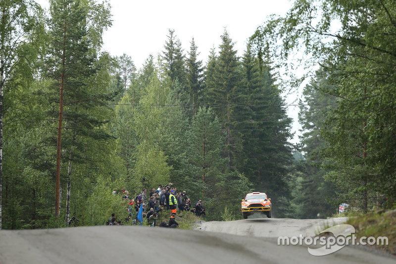 Martin Prokop, dan Jan Tomanek, Ford Fiesta RS WRC
