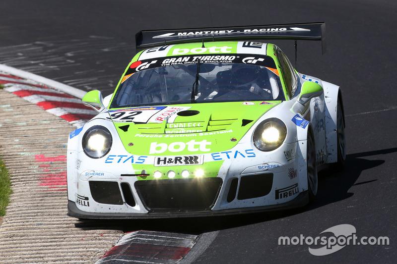 #92 Team Manthey Porsche 911 GT3 Cup: Nick Tandy, Christoph Breuer
