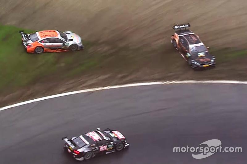 Тимо Шайдер, Audi Sport Team Phoenix Audi RS 5 DTM продолжает гонку после вылета Паскаля Верляйна, H