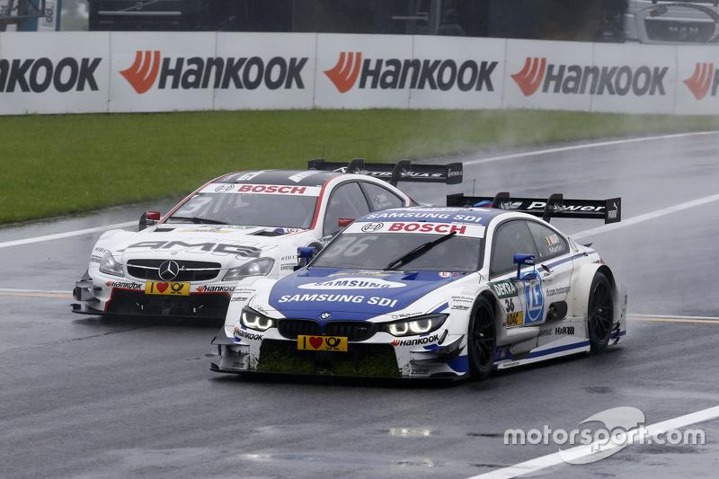 Maxime Martin, BMW RMG Takımı BMW M4 DTM lider Paul di Resta, HWA AG Mercedes-AMG C63 DTM