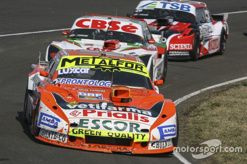 Jonatan Castellano, Castellano Power Team Dodge, dan Carlos Okulovich, Maquin Parts Racing Torino, dan Jose Manuel Urcera, JP Racing Torino