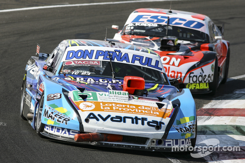 Martin Ponte, Nero53 Racing Dodge, dan Guillermo Ortelli, JP Racing Chevrolet