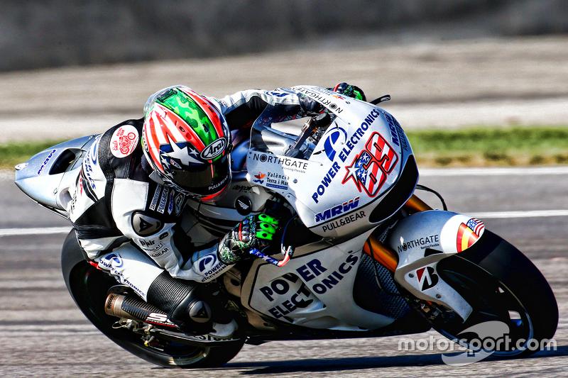 2015: Aspar Honda, 20º no campeonato (16 pts), 18 corridas