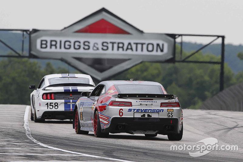 #6 Stevenson Motorsports Camaro Z/28.R: Робін Лідделл, Ендрю Девіс