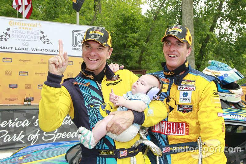 Para juara balapan Matt Plumb, Hugh Plumb