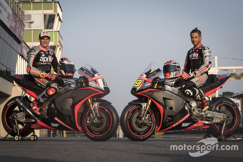 Stefan Bradl, dan Alvaro Bautista, Aprilia Racing Team Gresini