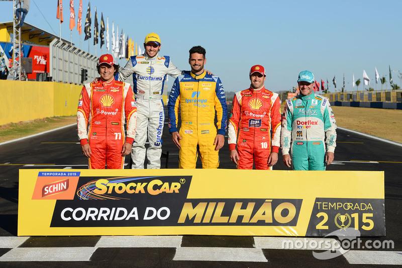 Previous Millionaires: Valdeno Brito, Ricardo Maurício, Thiago Camilo, Ricardo Zonta, Rubens Barrichello