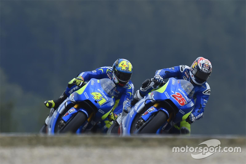 Maverick Viñales, dan Aleix Espargaro, Team Suzuki MotoGP
