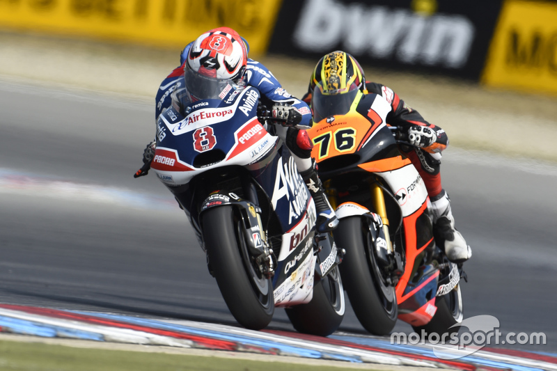 Hector Barbera, Avintia Racing and Loris Baz, Forward Racing Yamaha
