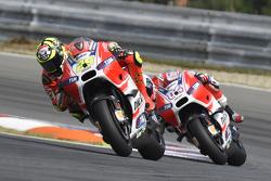 Андреа Довициозо и Андреа Янноне, Ducati Team