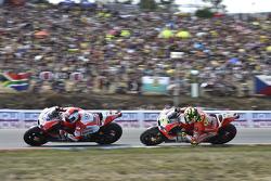 Andrea Dovizioso and Andrea Iannone, Ducati Team
