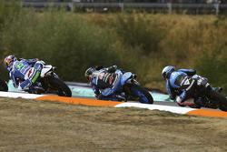 Enea Bastianini, Gresini Racing Team Moto3, Jorge Navarro, Estrella Galicia 0,0 e Romano Fenati, SKY Racing Team VR46