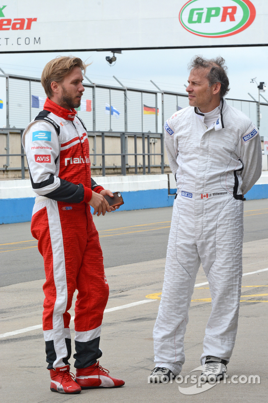 Нік Хайдфельд, Mahindra Racing та Жак Вільньов, Venturi