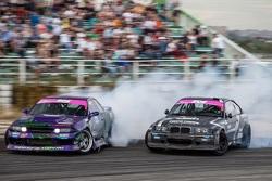 Андрей Песегов (Nissan) и Евгений Сатюков (BMW)