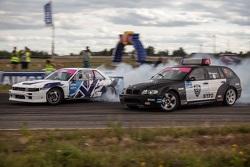 Артур Мелкумян (Nissan) и Аркадий Пучинин (BMW)