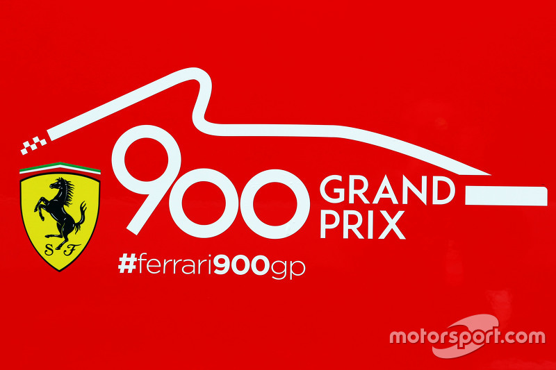 Ferrari celebrating 900 Grand Prix