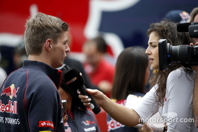 Max Verstappen, Scuderia Toro Rosso medya ile birlikte