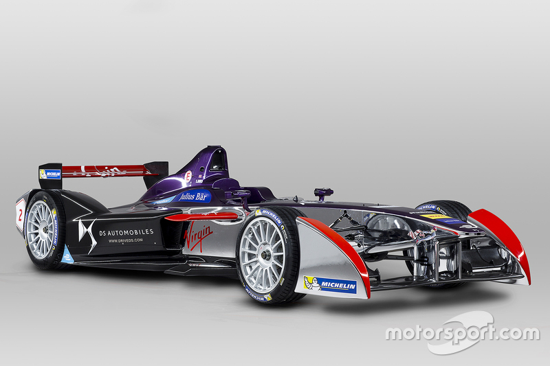 Pintura da DS Virgin Racing