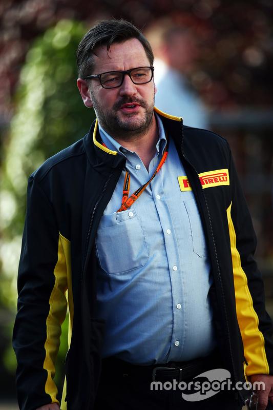 Paul Hembery, Pirelli Motorsport