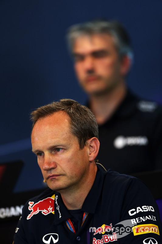 Paul Monaghan, Red Bull Racing engenheiro chefe