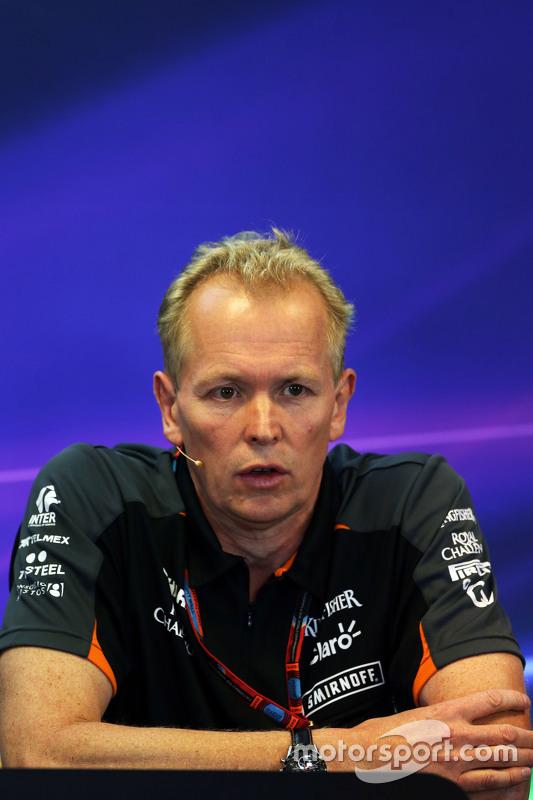 Andrew Green, Sahara Force India F1 Team