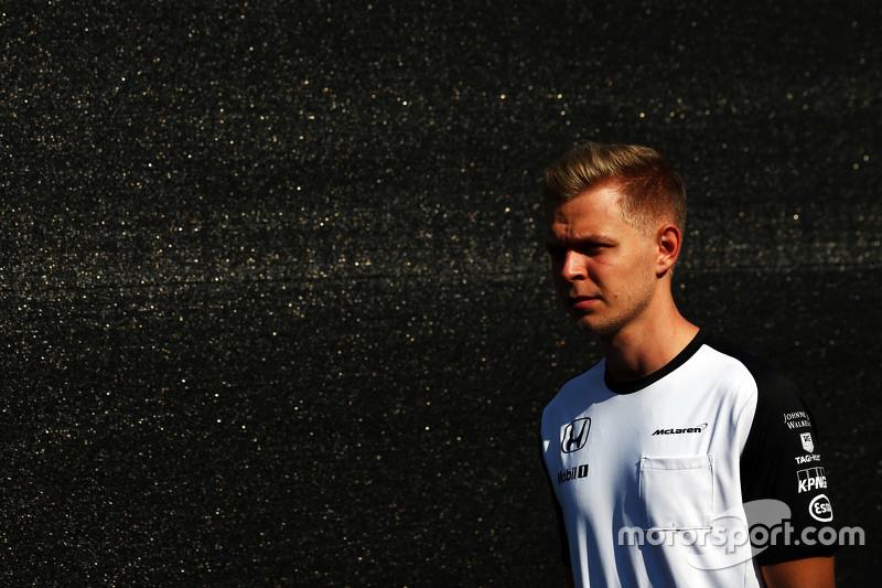Кевин Магнуссен, тест-пилот McLaren
