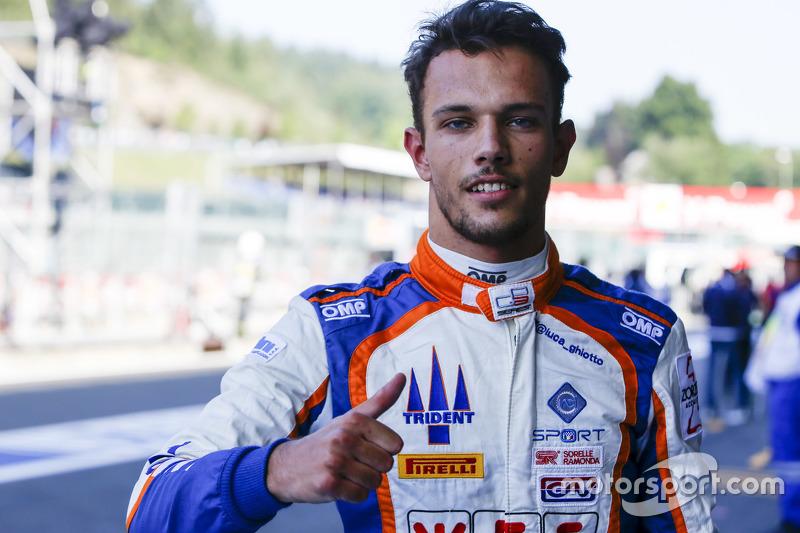 Polesitter Luca Ghiotto, Trident
