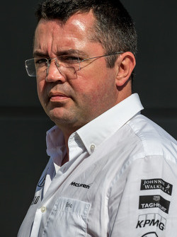 إيريك بولييه، مدير السباقات في فريق مكلارين