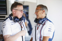 Mike O' Driscoll, Group CEO en Nick Rose, Non-Executive Chairman, Williams F1