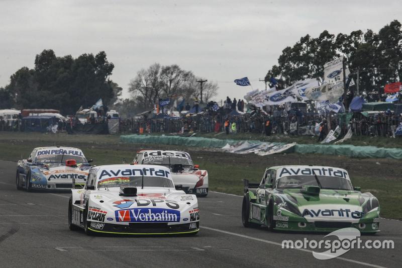 Leonel Sotro, Alifraco Sport Ford, dan Juan Bautista de Benedictis, Alifraco Sport Ford, dan Martin Ponte, Nero53 Racing Dodge