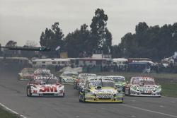 Омар Мартінез, Martinez Competicion Ford та Маріано Вернер, Werner Competicion Ford та Хуан Пабло Джанніні, JPG Racing Ford