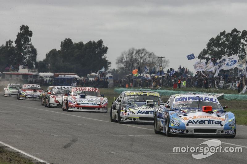 Martin Ponte, Nero53 Racing Dodge, dan Diego de Carlo, JC Competicion Chevrolet, dan Matias Jalaf, C