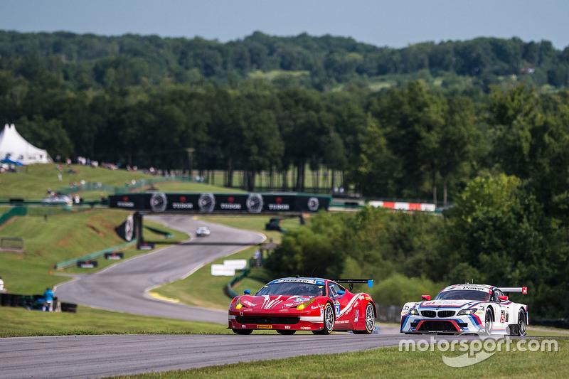 #63 Scuderia Corsa Ferrari 458 Italia: Bill Sweedler, Townsend Bell dan #25 BMW Team RLL BMW Z4 GTE: