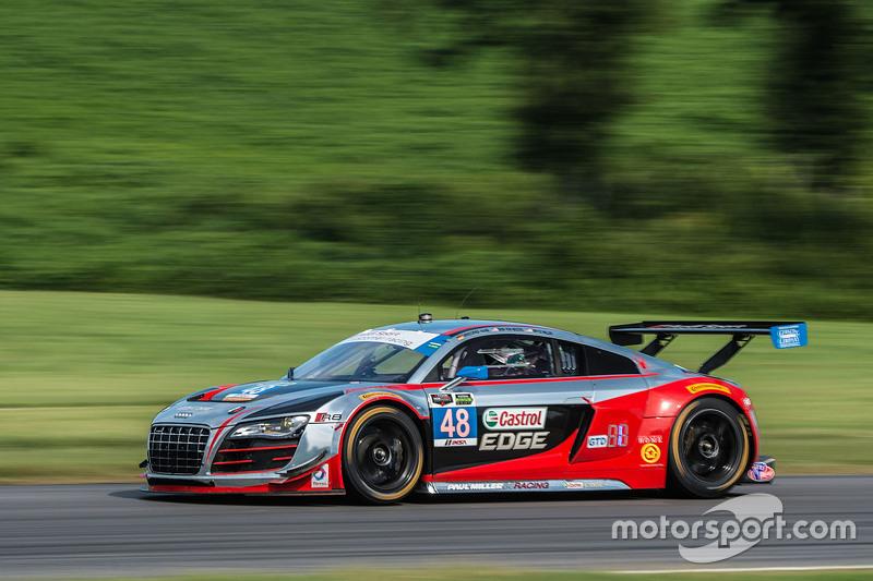 #48 Paul Miller Racing Audi R8 LMS: Christopher Haase, Dion von Moltke